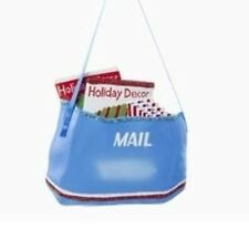 KURT ADLER UNITED STATES POSTAL MAIL BAG USPS POSTAL CARRIER XMAS TREE ORNAMENT