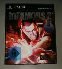 Sony PLAYSTATION 3 ps3-Infamous 2-Special Edition-Buone condizioni!