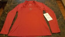 Tampa Bay Buccaneers All Sport Couture NFL Womens Red Zone Long Sleeve Top XL