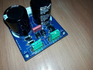 DC trap blocker filter for toroidal transformers toroids-fully populated PCB v.3