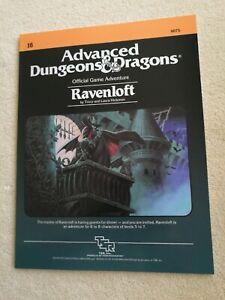 D&D  - Ravenloft I6 + I10 (réimpressions) - Dungeons Dragons - TSR