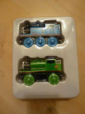 New in Package Thomas & Friends Wooden Railway 2 Pack (Wooden Thomas and Percy)