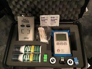 NOYES OPM4-4D FIBER OPTIC POWER METER Kit / OTDR / Fiber Splicer