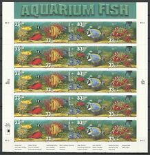 Etats Unis D' Amerique Usa Poissons Tropicaux Tropical Fishes Fishe ** 1999 Bloc