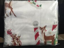 NEW Pottery Barn KIDS Rudolph The Red Nosed Reindeer STANDARD Flannel Sham