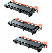 3-Pack/Pk TN660 TN630 High Yield Toner for Brother HL-L2300D L2320D L2340DW