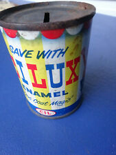 Vintage Save with Cilux Paint Can Bank