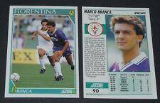 90 MARCO BRANCA FIORENTINA FOOTBALL CARD 92 1991-1992 CALCIO ITALIA SERIE A