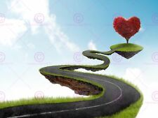 PAINTING ABSTRACT HIGHWAY LOVE ISLAND ART PRINT POSTER MP3020A