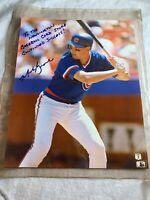 Mark Grace autographed 8 x 10 Chicago Cubs photo N