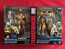 New listing Transformers Studio Series Deluxe Bumblebee 24&25