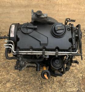GENUINE VOLKSWAGEN VW CADDY 1.9 TDI BJB COMPLETE ENGINE 105bhp AUDI SEAT SKODA