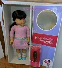 NEW American Girl Doll Truly Me Light Skin Black Brown Hair Bangs Eyes #54 FFW18