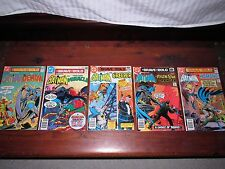 *BRAVE & THE BOLD: BATMAN (5) BOOKS# 137/138/143/145/147 ALL VF GRADE ONE OWNER*