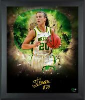 "Sabrina Ionescu Oregon Ducks Framed Autographed 20"" x 24"" In Focus Photograph"