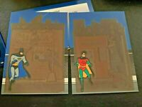 Adventures of BATMAN & ROBIN Trading Cards SET ++ 12 Pop Up Cards RARE ❤️ sj17j