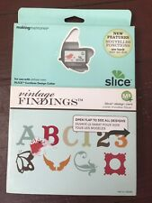 Making Memories slice Design Card- Vintage Findings...Brand New!!!!