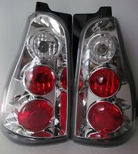 05 06 07 TOYOTA 4RUNNER SET OF TWO/RG-LF/ TAIL LIGHTS CHROME & CLEAR LENS