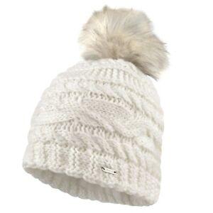 Dare2B RADIANCE Ski and winter beanie hat. White