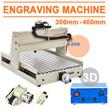 4 Axis CNC3040 Router Engraver incisione foratura fresatrice 400W DRILL MACHINE