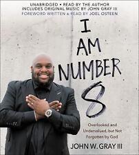 New Audiobook I AM NUMBER 8 by John W. Gray III Unabridged CDs God