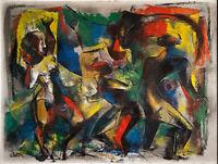 Charles Alston : Dancers : 1949 : Archival Quality Art Print
