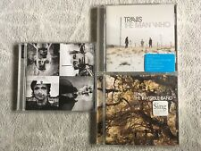 "Travis 3 CDs- ""The Man Who"", ""The Invisible Band"" & ""12 Memories"""