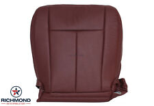 2008 Ford Expedition King Ranch-Driver Side Bottom Perforated Leather Seat Cover