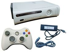 Microsoft Xbox 360 Elite Launch Edition 120GB White Gaming Console + Controller