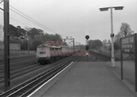 PHOTO  NO.86 2?5 APPROACHING CARPENDERS PARK STATION WITH THE 10.40AM EUSTON