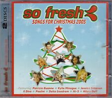 So Fresh Songs For Christmas 2005 **2CD Album**Elvis, Kylie, Blink-182, Ashanti