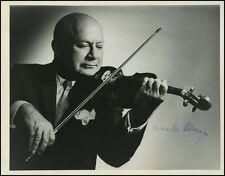 Mischa ELMAN (Violin): Signed Photo