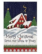 Lang Co. - Our Home To Yours Christmas mini garden flag - #Lg-Gf-063
