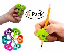 B-KIDS Pencil Grips for Kids Handwriting OT Pen Grip (6 PACK)