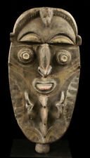 Figure minj, art tribal du sepik, océanie, mont waskuk papouasie nouvelle guinée