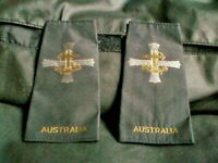 OZ SET OF EPAULETTES SHOULDER AUSTRALIAN NAVY C