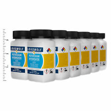Potassium Hydroxide 3 Lb Total 12 Bottles Food Grade Fine Flakes Usa Seller