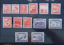 Austria 1947 Currency Revaluation values to 5s MM or MNH