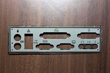 I/O Shield MSI MS-6567 ATX-Blende