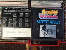 ALBERT AYLER   LP: I GRANDI DEL JAZZ (ITALY;Fabbri Editori GdJ 12)