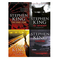 Stephen King Collection 4 Books Set Dead Zone,Pet Sematary,Christine New PB