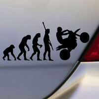 Creative Human Evolution Auto Car Accessories Window Decal Stickers Funny Top 1x