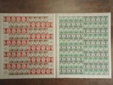 DR 1935 MHB55-56 ** POSTFRISCH TRACHTEN MARKENHEFCTHENBOGEN 2100€(S9169d