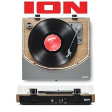 Ion Premier LP Natural Bluetooth USB 3-Speed Turntable Deck Vinyl Record Player