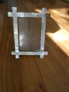Antique Mother of pearl Photo Frame