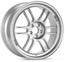 18 ENKEI RPF1 SILVER RIMS 18x8.5 +40 5x120 (4 NEW WHEELS)