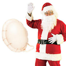 Santa Claus + Inflatable Belly Mens Fancy Dress Christmas Adults Costume Outfit