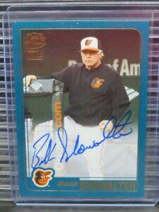 2020 Topps Archives Fan Favorites Buck Showalter Auto Autograph Orioles (B) Y956