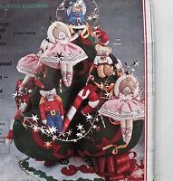 1991 Toyland Tree Christmas 3 Dimensional Daisy Kingdom Sewing Craft Kit 9876