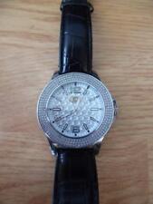 Grand Master Men's Diamond Watch White Dial 49mm case